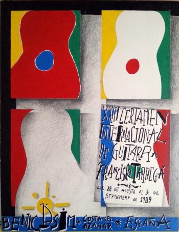 Lápiz y Témpera, 1989