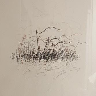 Pastel sobre papel, 2003